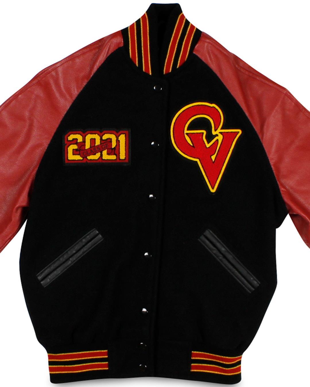 Castle View High School Varsity Jacket, Castle Rock CO - Front