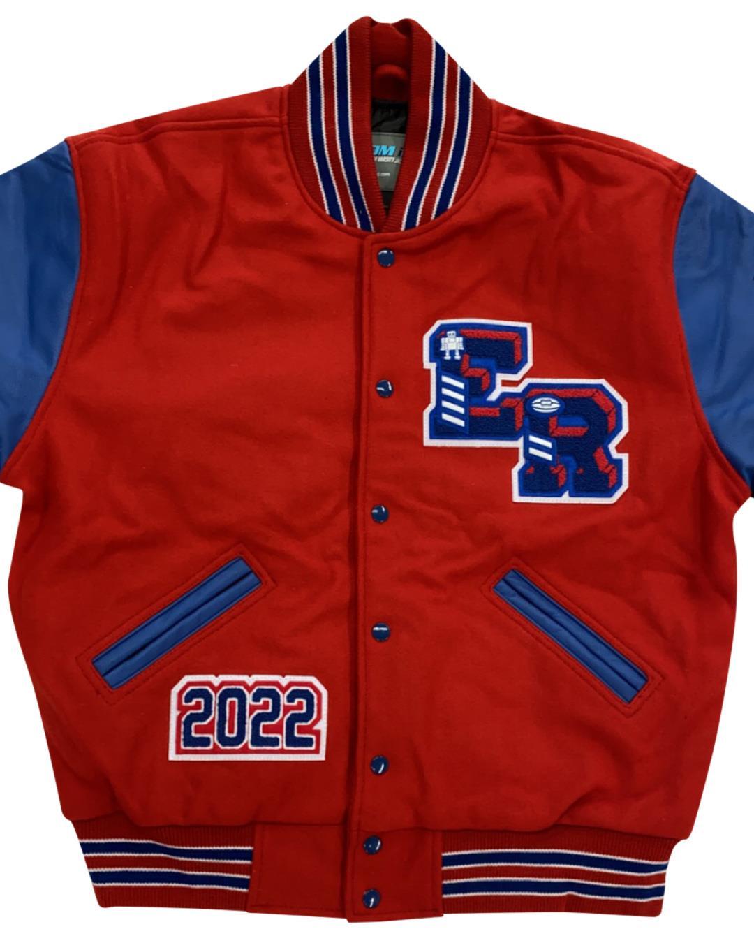 East Rankin Academy Letterman Jacket, Pelahatchie MS - Front