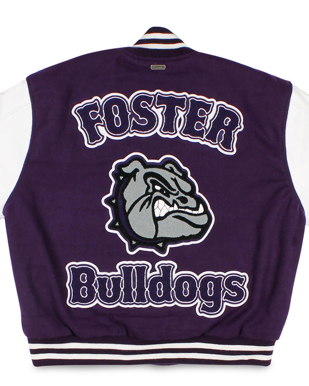Foster High School Letterman Jacket, Tukwila WA - Back