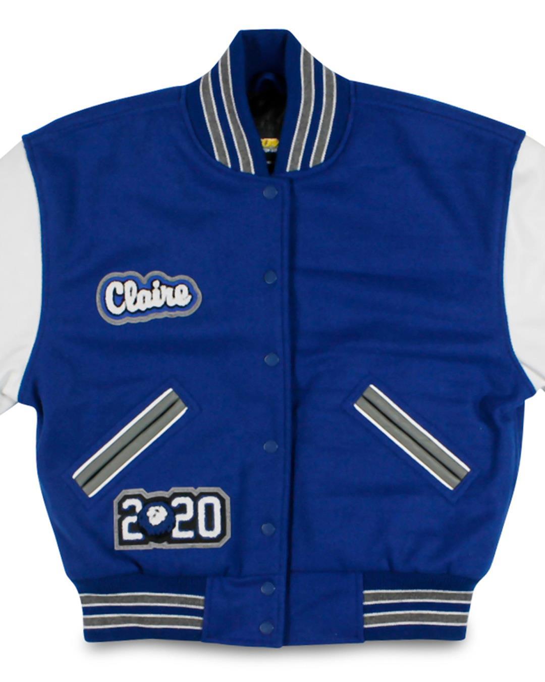Bellevue Christian School Letterman Jacket, Bellevue WA - Front