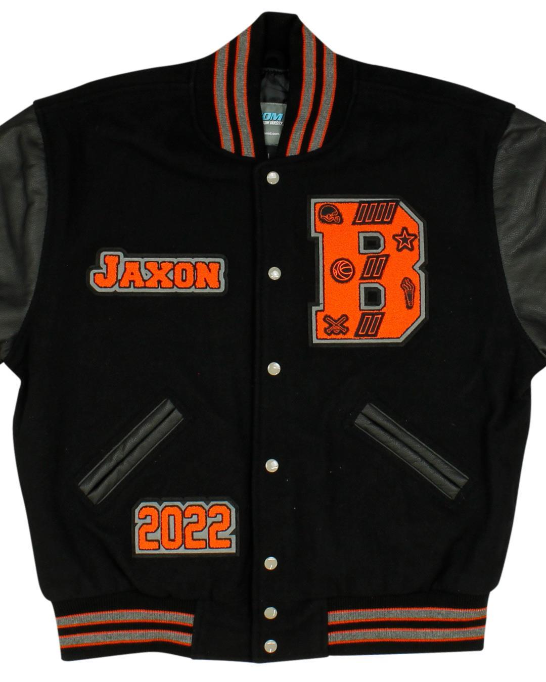 Blaine High School Letterman Jacket, Blaine WA - Front