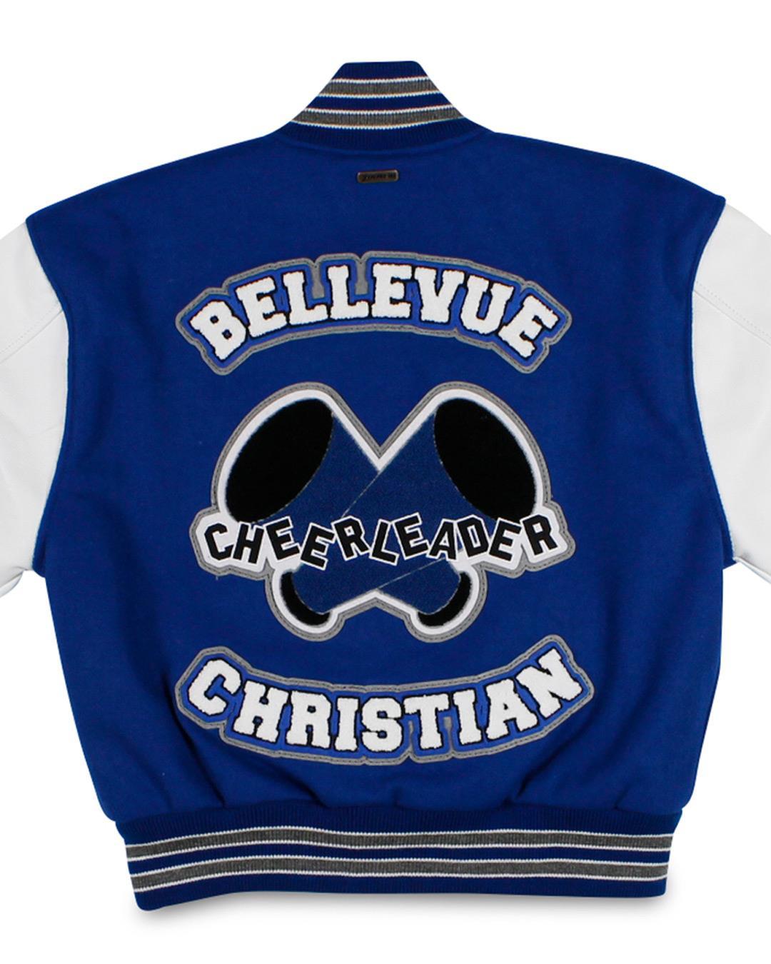 Bellevue Christian School Letterman Jacket, Bellevue WA - Back