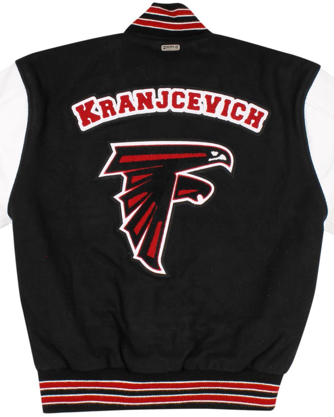 Kentlake High School Letterman Jacket, Kent WA - Back