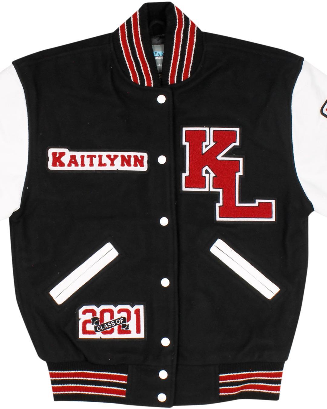 Kentlake High School Letterman Jacket, Kent WA - Front