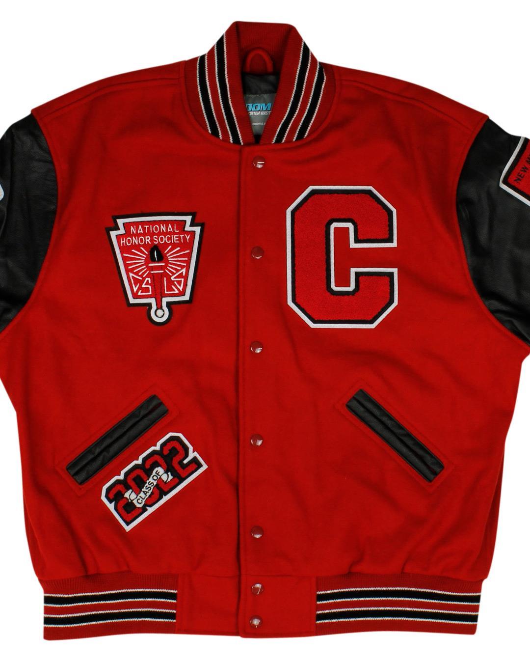 Cobre High School Varsity Jacket, Bayard NM - Front