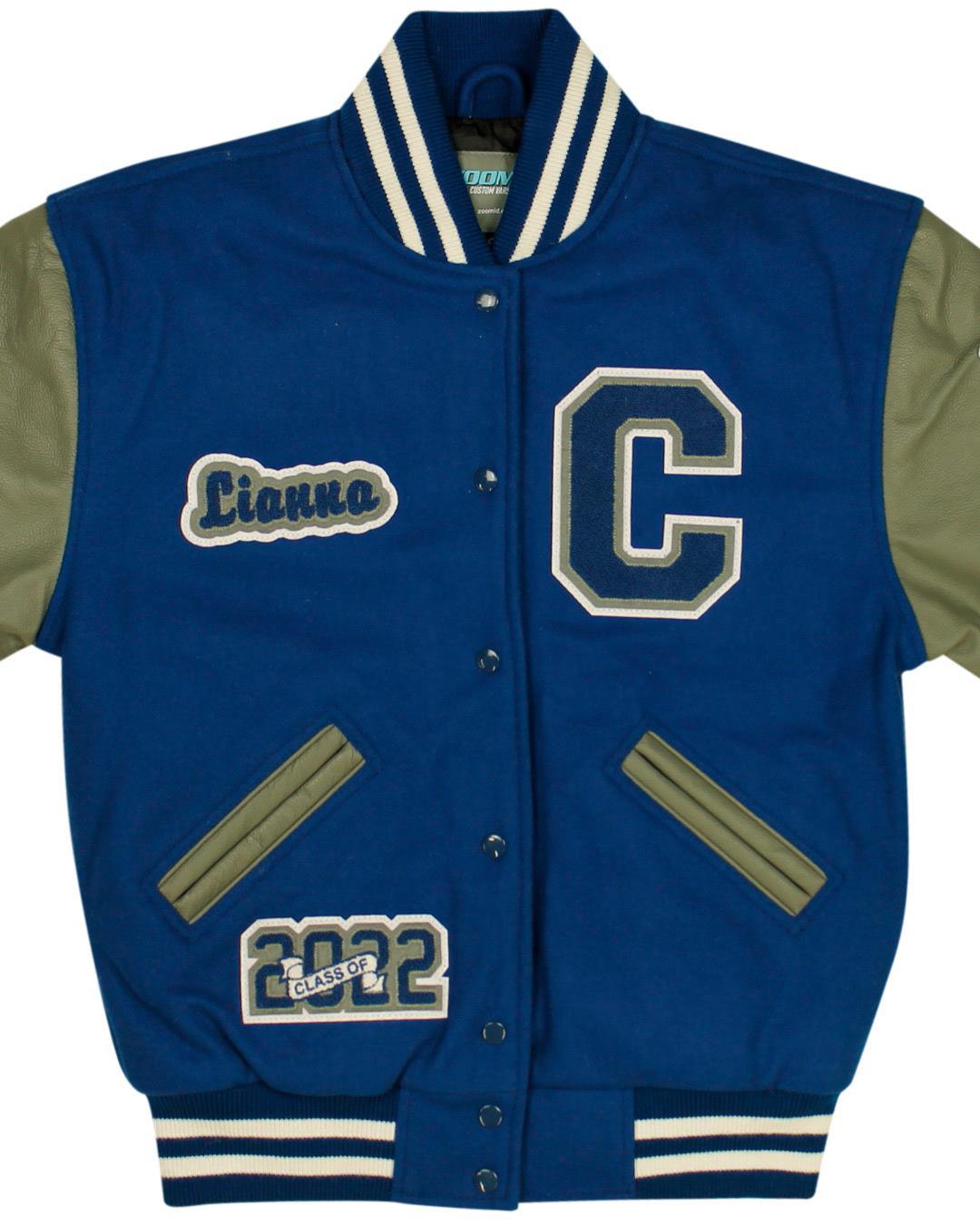 Campbell High School Letterman Jacket, Smyrna GA - Front