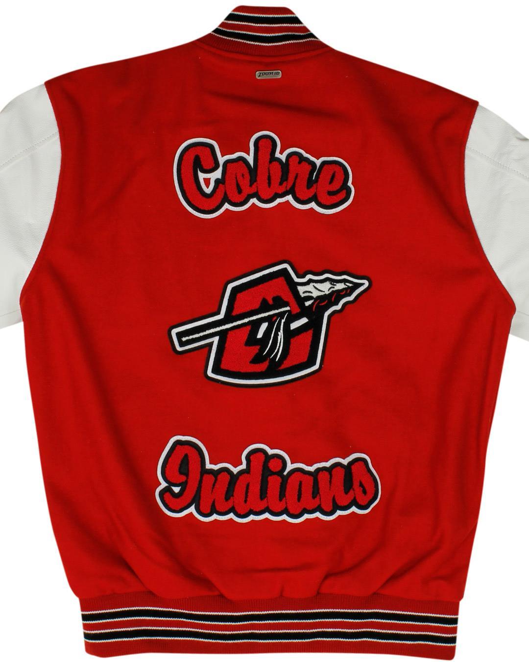 Cobre High School Letterman Jacket, Bayard NM - Back