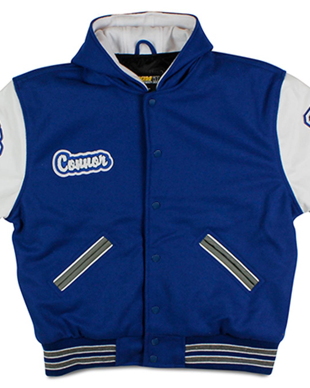 Bellevue Christian School Letterman Jacket, Bellevue WA - Front 3