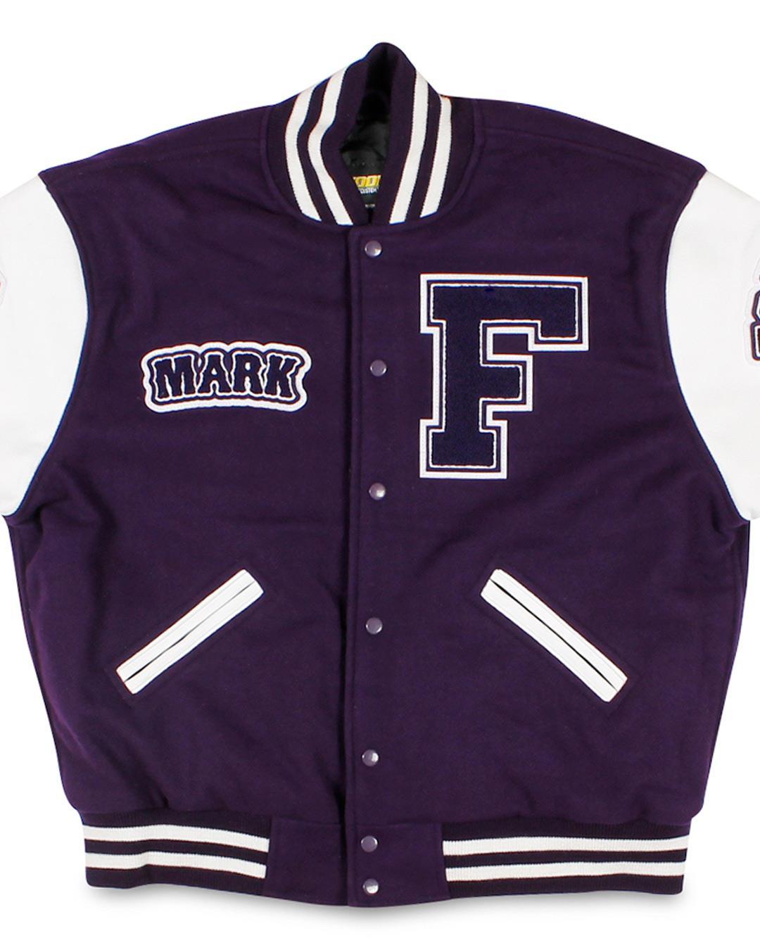 Foster High School Letterman Jacket, Tukwila WA - Front