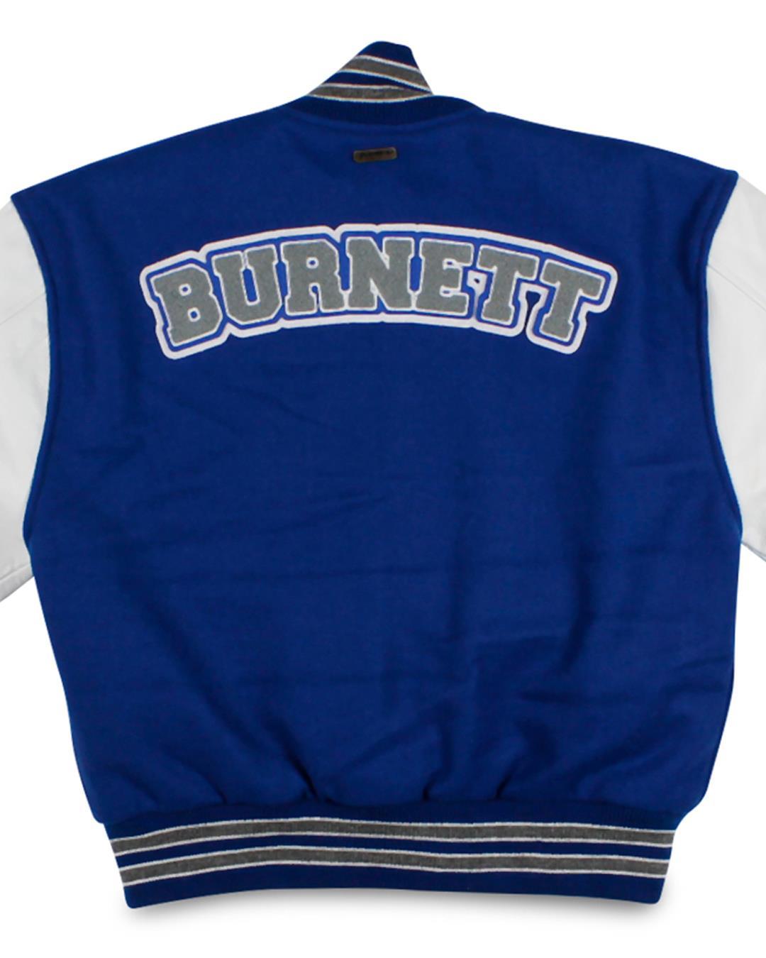 Bellevue Christian School Varsity Jacket, Bellevue WA - Back