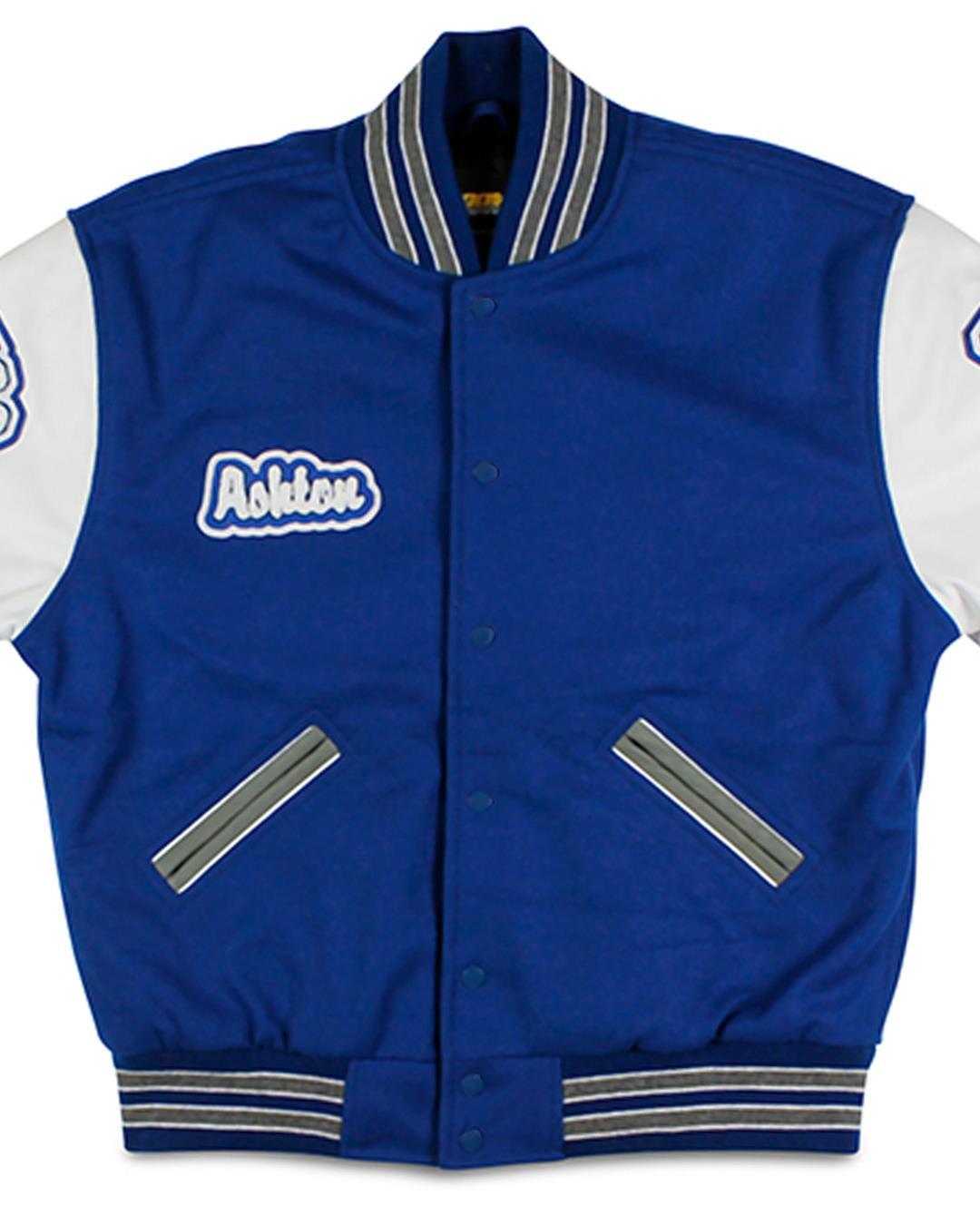 Bellevue Christian School Letterman Jacket, Bellevue WA - Front 2