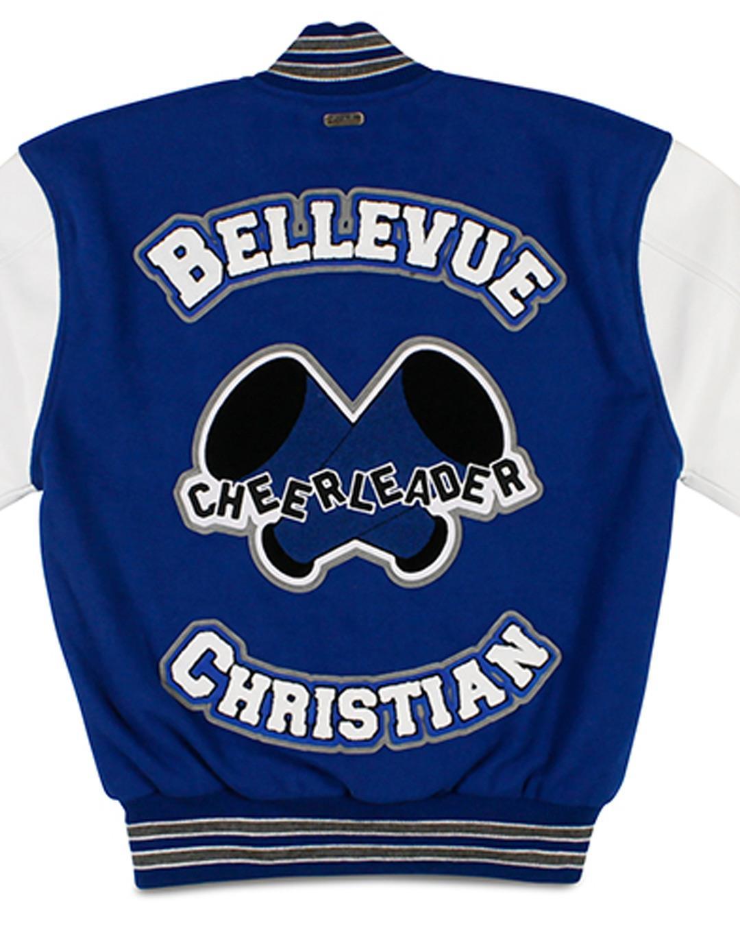 Bellevue Christian School Letter Jacket, Bellevue WA - Back