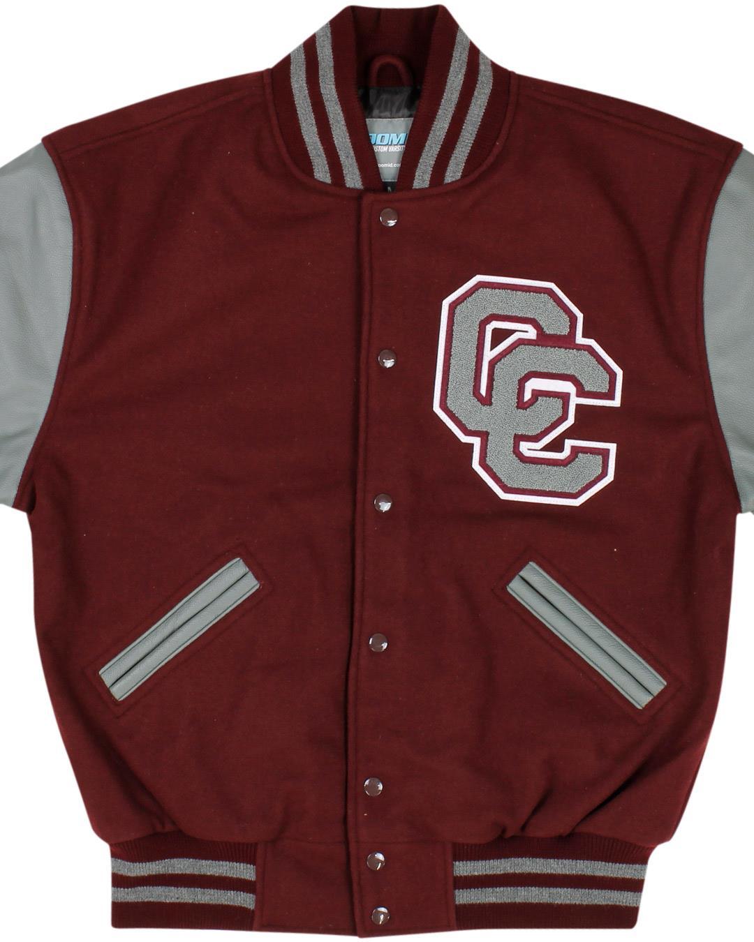 Clear Creek High School Letterman Jacket, League City TX - Front
