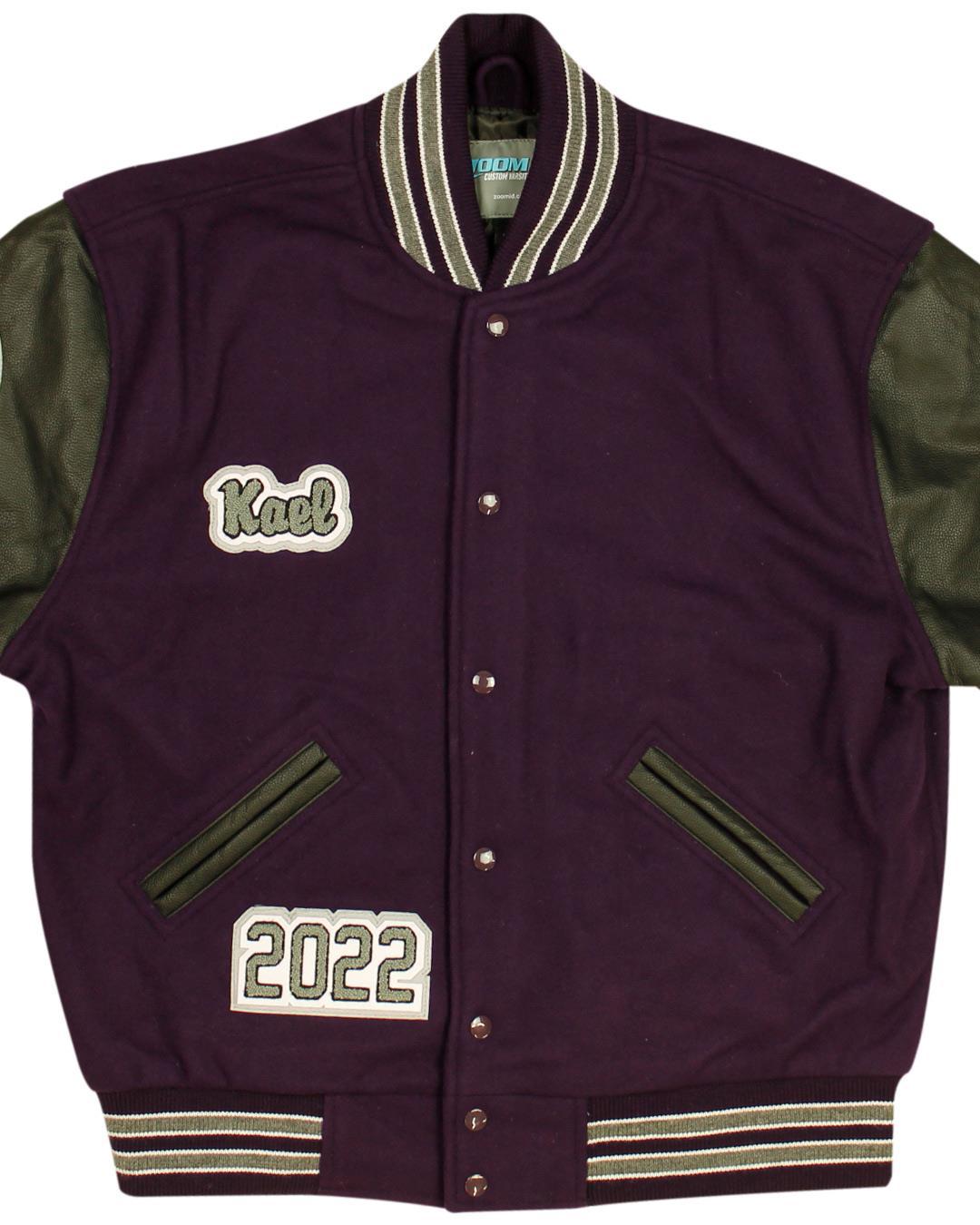 Spring Creek High School Letterman Jacket, Spring Creek NV - Front