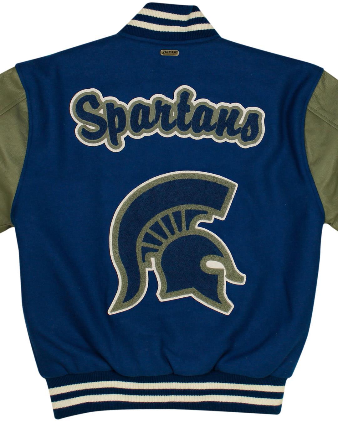 Campbell High School Letterman Jacket, Smyrna GA - Back