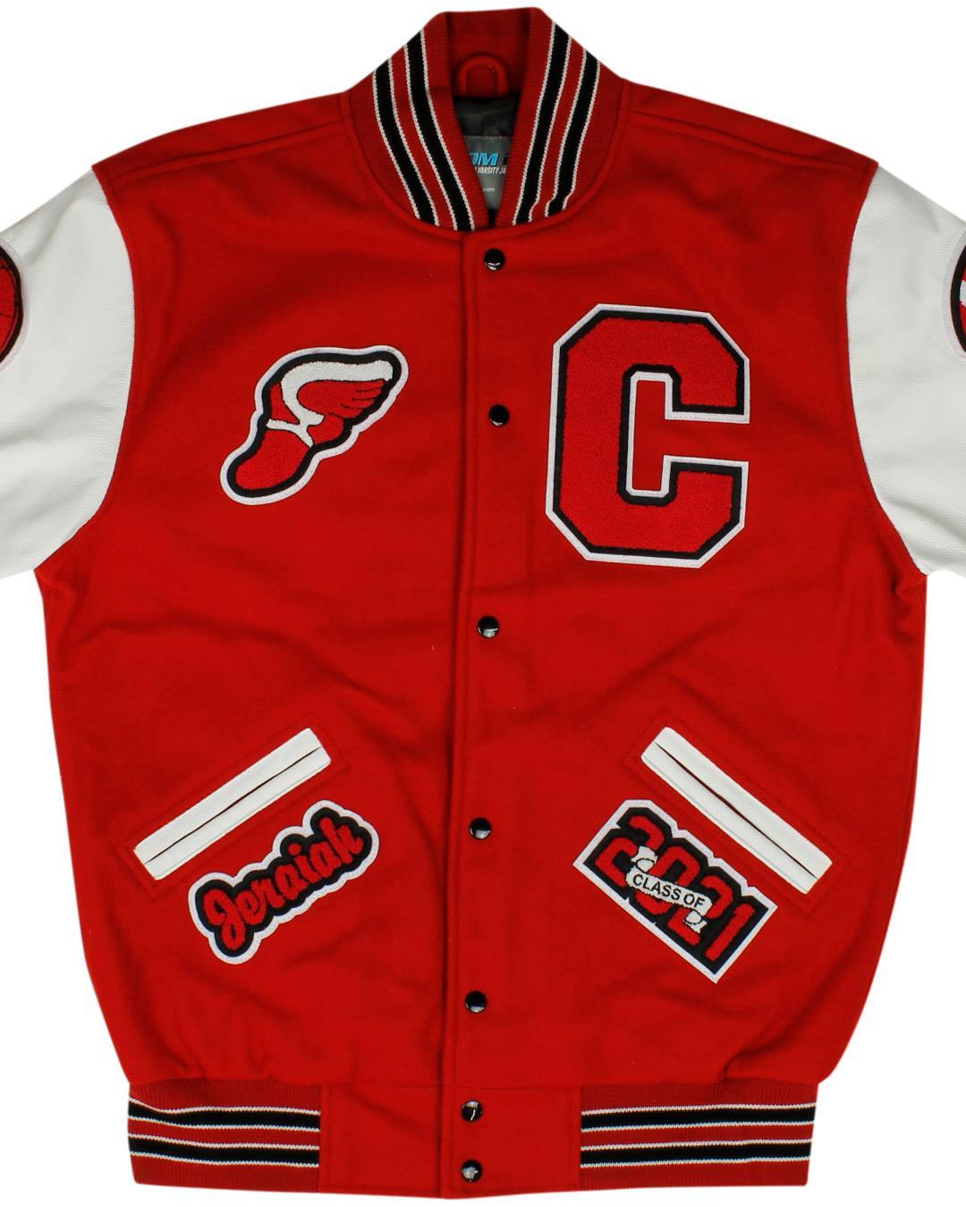 Cobre High School Letterman Jacket, Bayard NM - Front