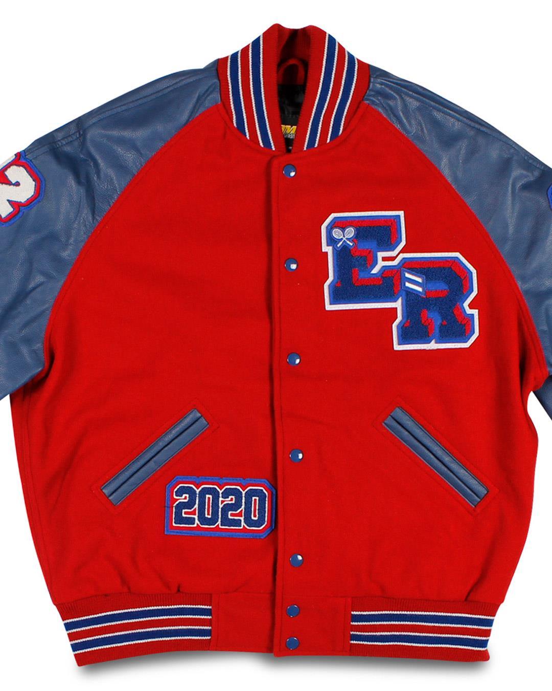 East Rankin Academy Varsity Jacket, Pelahatchie MS - Front